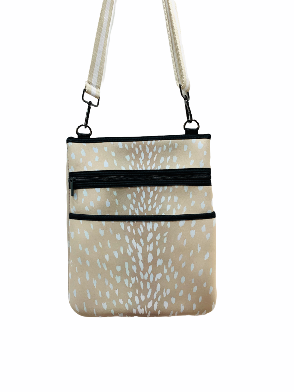 Champagne Fawn Crossbody Tote