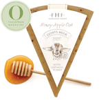 Honey- Apple Oat Goats Milk Soap
