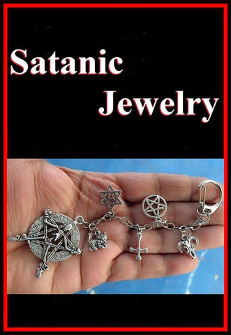 SATANIC PURSE Decor, Zip Puller or KEYRING.