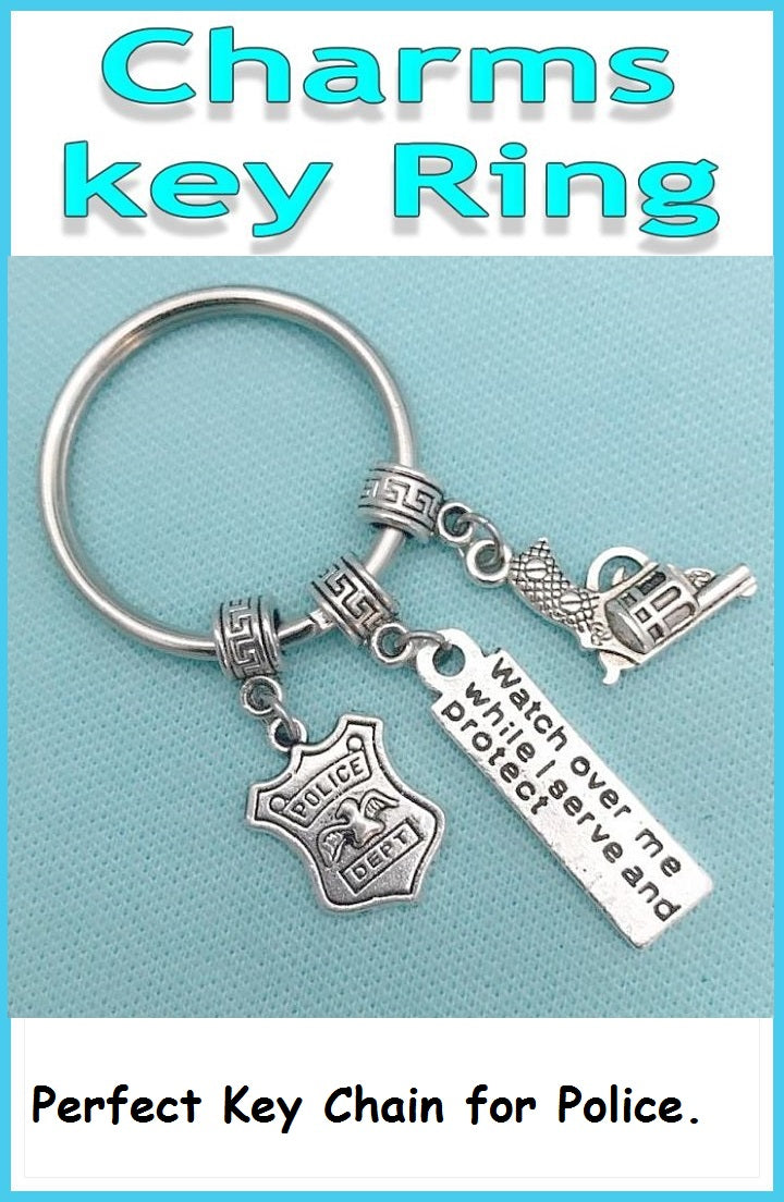 Perfect Key Chain for Police Office and their family.