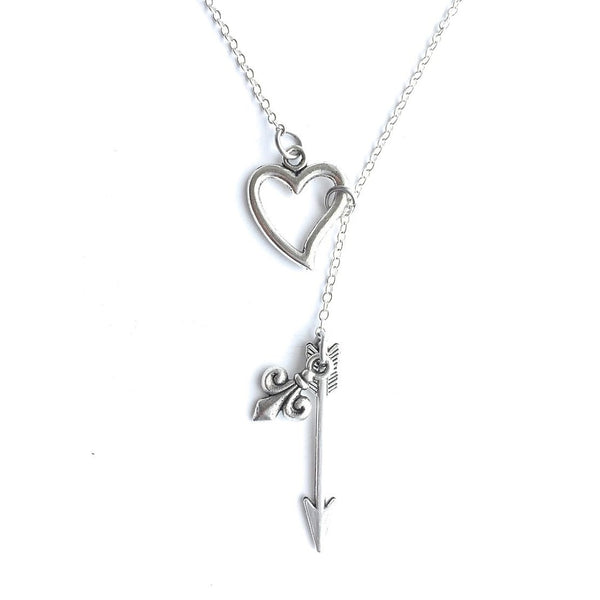 ALLISON ARGENT MEMORIAL (TW) Silver Lariat Y Necklace.
