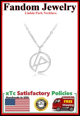 Linkin Park Charm Silver Necklaces.