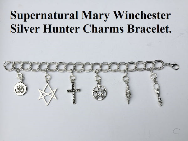 Supernatural Mary Winchester Hunter Charm Bracelet.