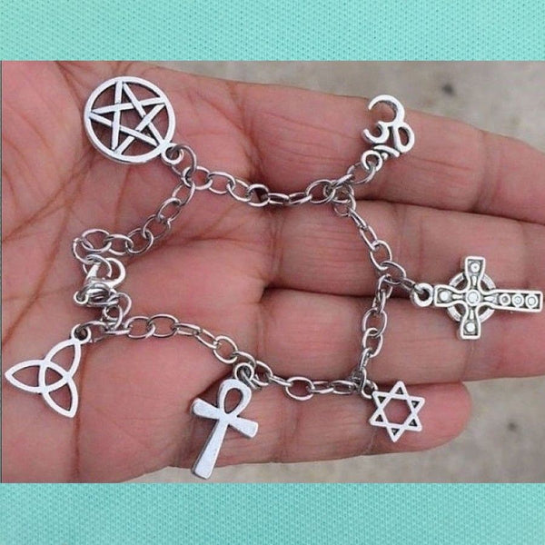 Barn's Wall Drawing Charms in Supernatural Bracelet.