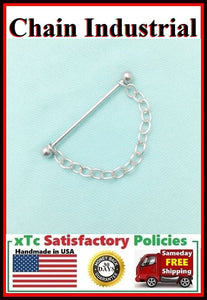 Single Stainless Steel Chain Surgical Steel Industrial.