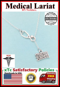 Nurses call the shots with Stethoscope Lariat.