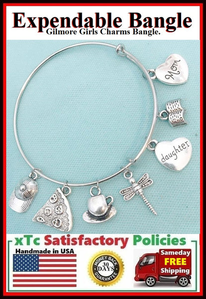 GILMORE GIRLS Inspiration Related Charms Expendable Bangle