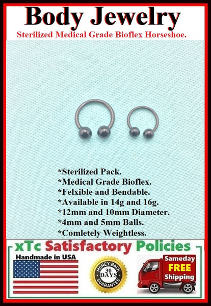 Sterilized Medical Grade Bio Flex Septum Horseshoes.