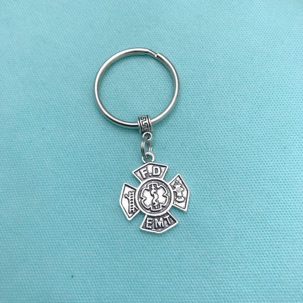 Perfect Key Chain for EMT and FIREFIGHTERS.