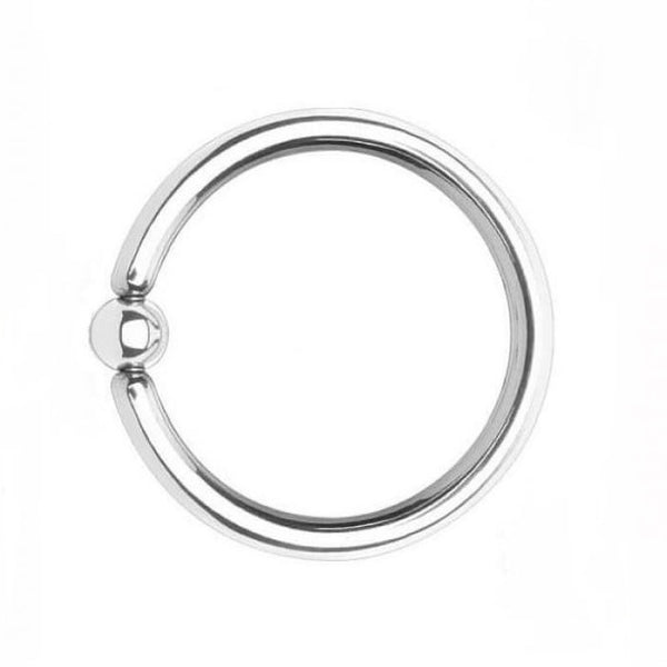 "Sterilized Surgical Steel 9g, 1-1/4"" FRENUM HOOP."