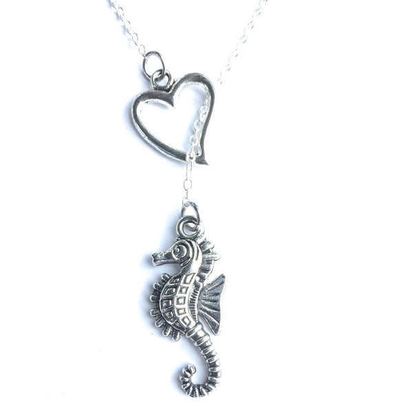 Find a Lover Like Seahorse: SEAHORSE Charms Handcrafted Necklace.