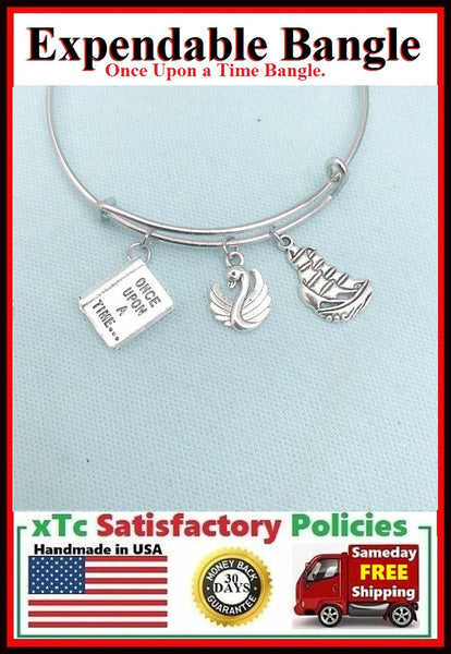 "Gorgeous ""Once Upon a Time"" Related Charms Bangle."