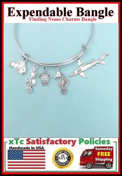 FINDING NEMO & Friends Charms Bangle
