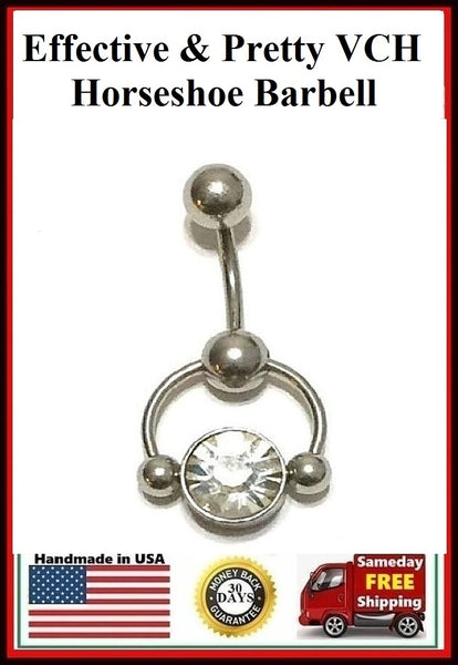 Effective and Pretty VCH Horseshoe Barbell.