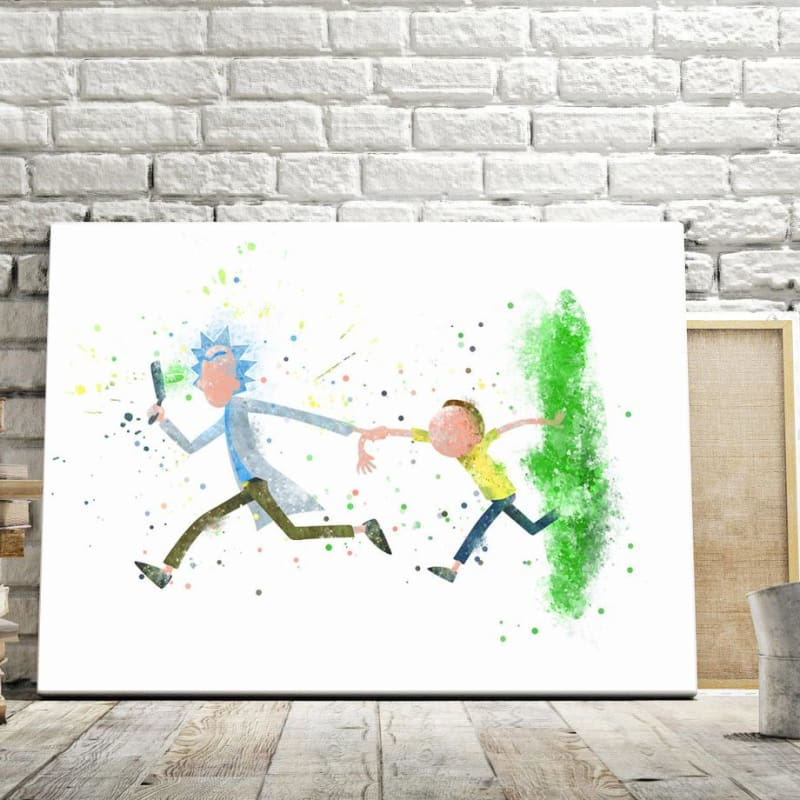 Abstract R&M Premium Canvas