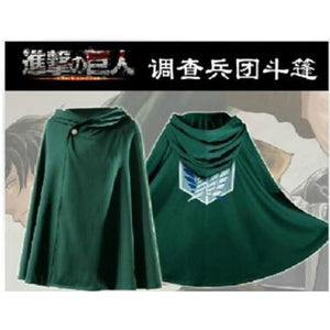 Aot Cloak Cosplay - Green / S / Star Wars - Clothing