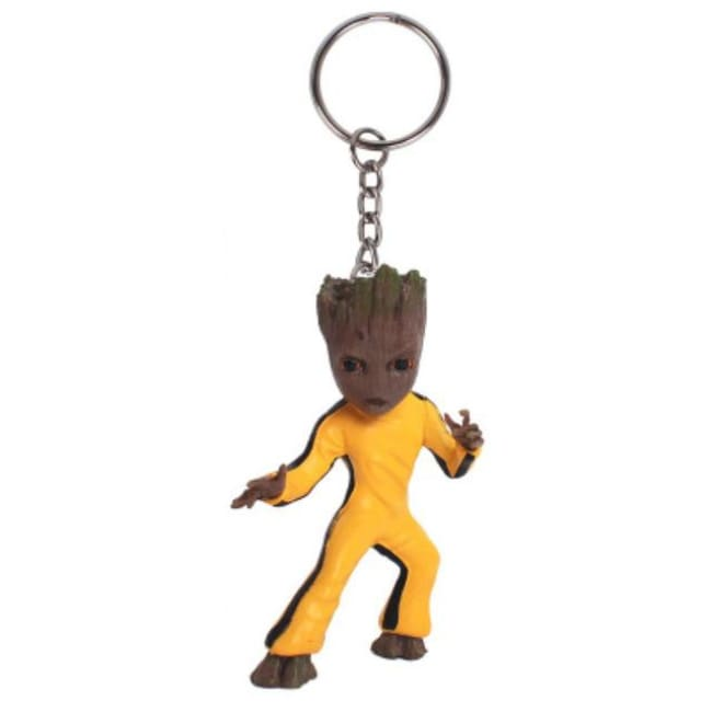 Baby Groot Keychains - Bruce Lee Groot - Accessories