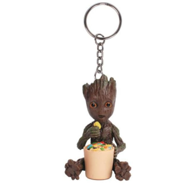 Baby Groot Keychains - Eating Sugar Groot - Accessories