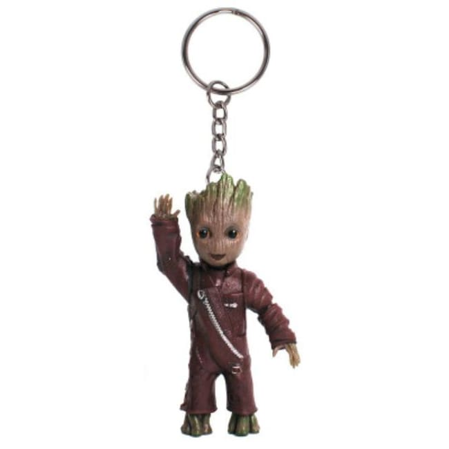 Baby Groot Keychains - Waving Groot - Accessories