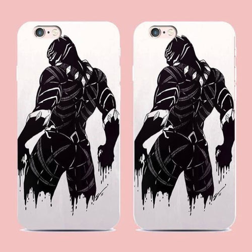 Black Panther Case - 1 / For Iphone 5 5S Se - Accessories