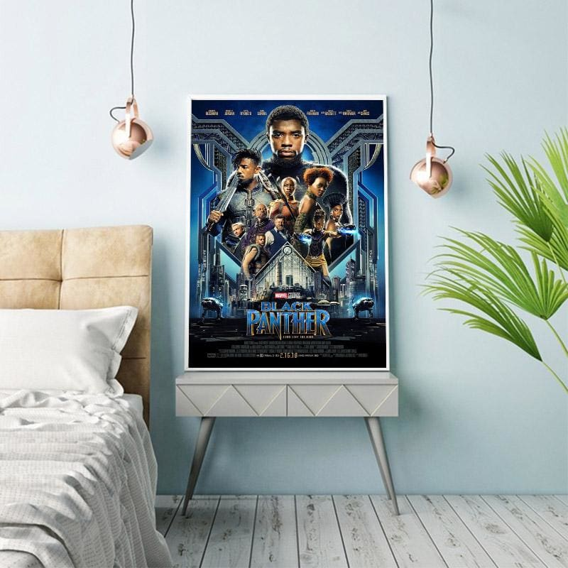 Black Panther Movie Poster - Wall Poster