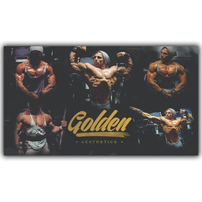 Every Way Inspirational Motivational Poster Bodybuilding Poster Fabric Silk Poster Printing Home Decoration YD139 - 30x53 cm / YD087