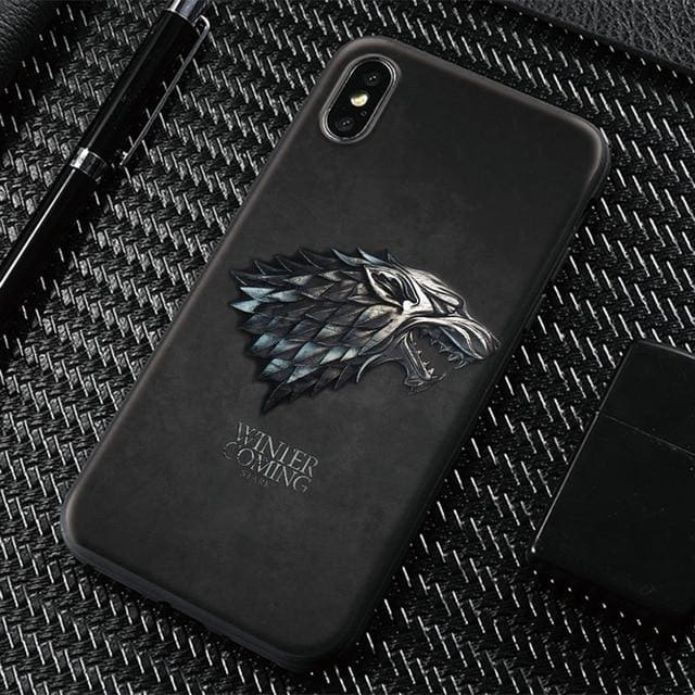Game of Thrones Stark Mobile Case - Black / For iPhone 5 5s SE