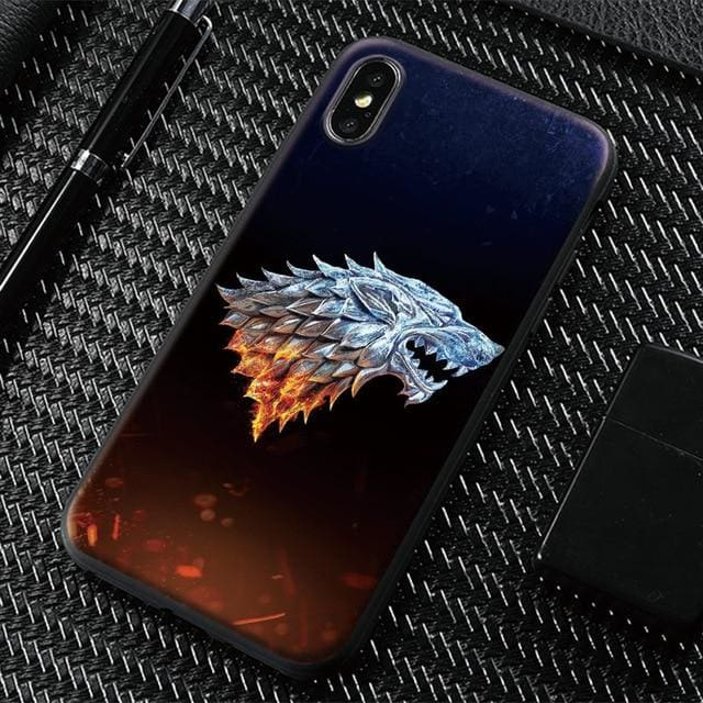 Game of Thrones Stark Mobile Case - Fire / For iPhone 5 5s SE