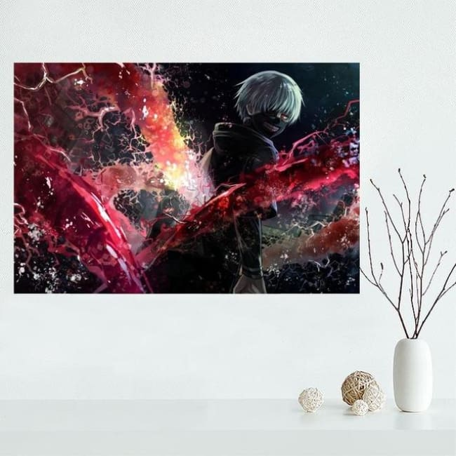 Ghoul Chilling Art - 27X40Cm / 12 - Wall Set