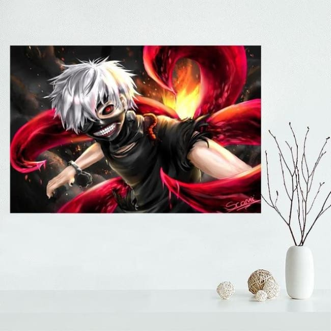 Ghoul Chilling Art - 27X40Cm / 6 - Wall Set