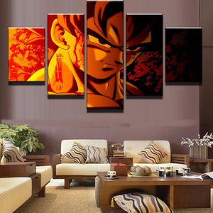 I Am A Saiyan - Wall Art