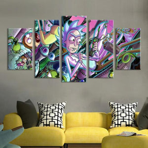 Invention Frenzy - Medium - Wall Art