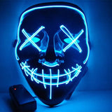 Light Up Purge Mask - United States / Blue - Accesories