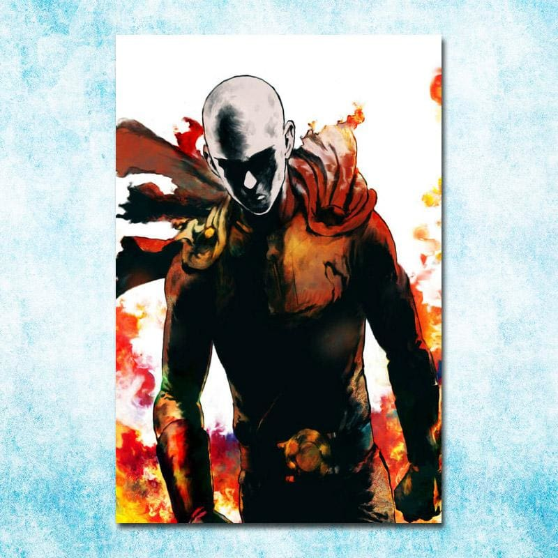 One Punch Man- The Hero - Edition 1 Small / click - Wall Poster