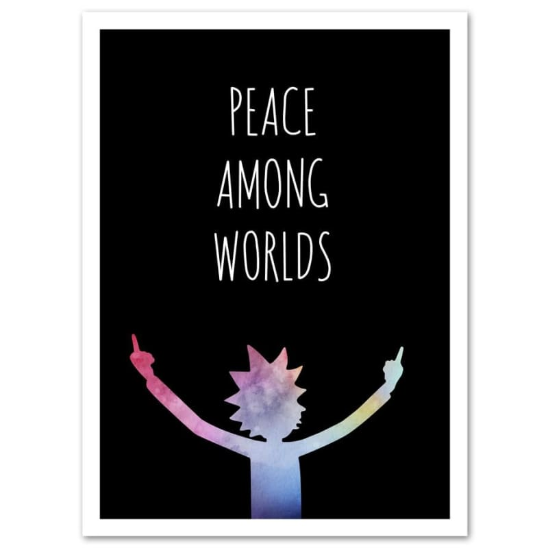 Peace Among Worlds - 40X50 / A - wall art