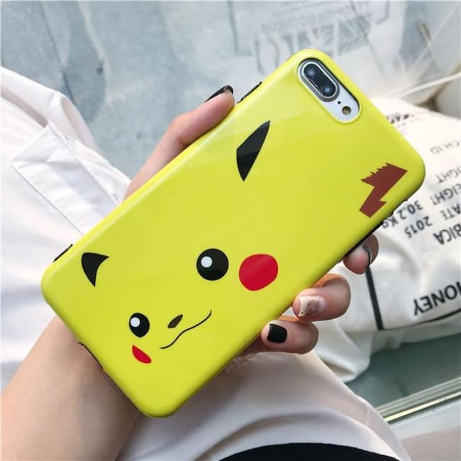 Pikachu Premium Iphone Case - Pikachu Face / For Iphone 6