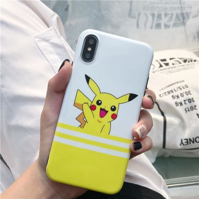Pikachu Premium Iphone Case - Pikachu Figure / For Iphone 6