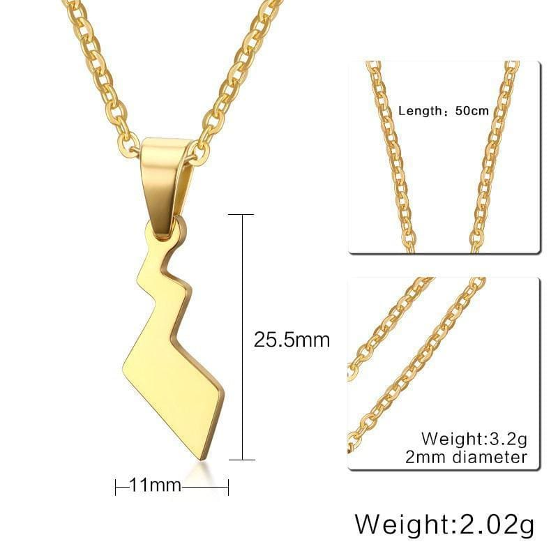 Pikachu Tail Necklace - Accesories