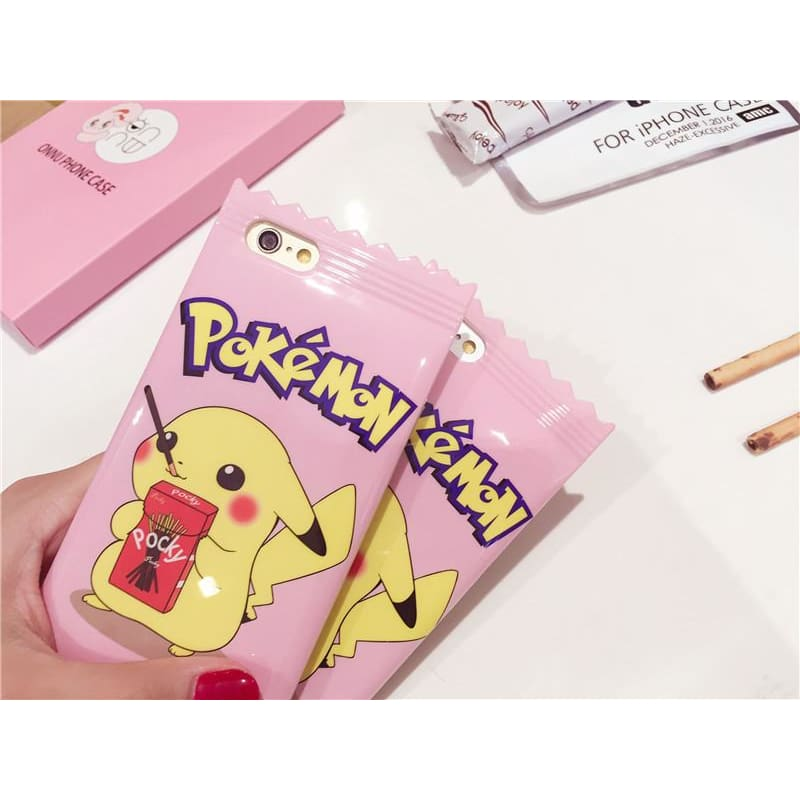 Pink Cute Pikachu Iphone Case