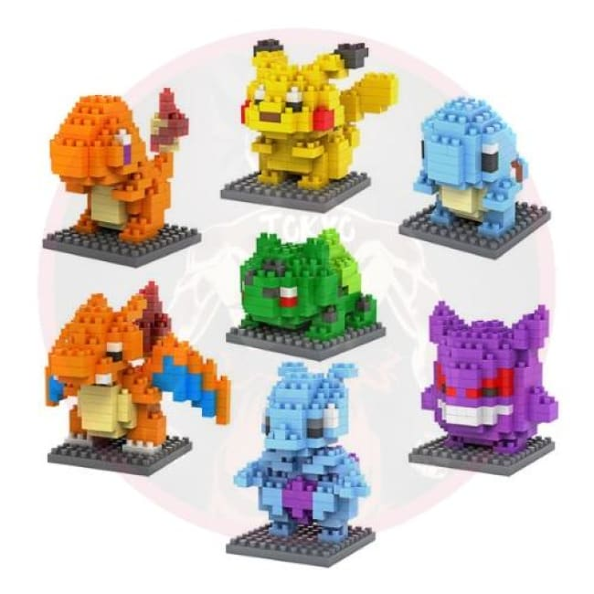 Pokemon Block Figures [Limited Edition] - Figures