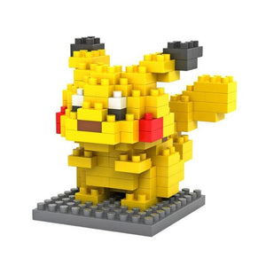 Pokemon Block Figures [Limited Edition] - Pikachu - Figures