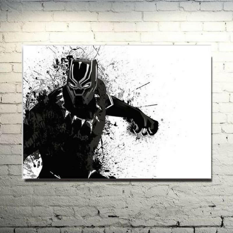 Power Of The Black Panther - Wall Poster