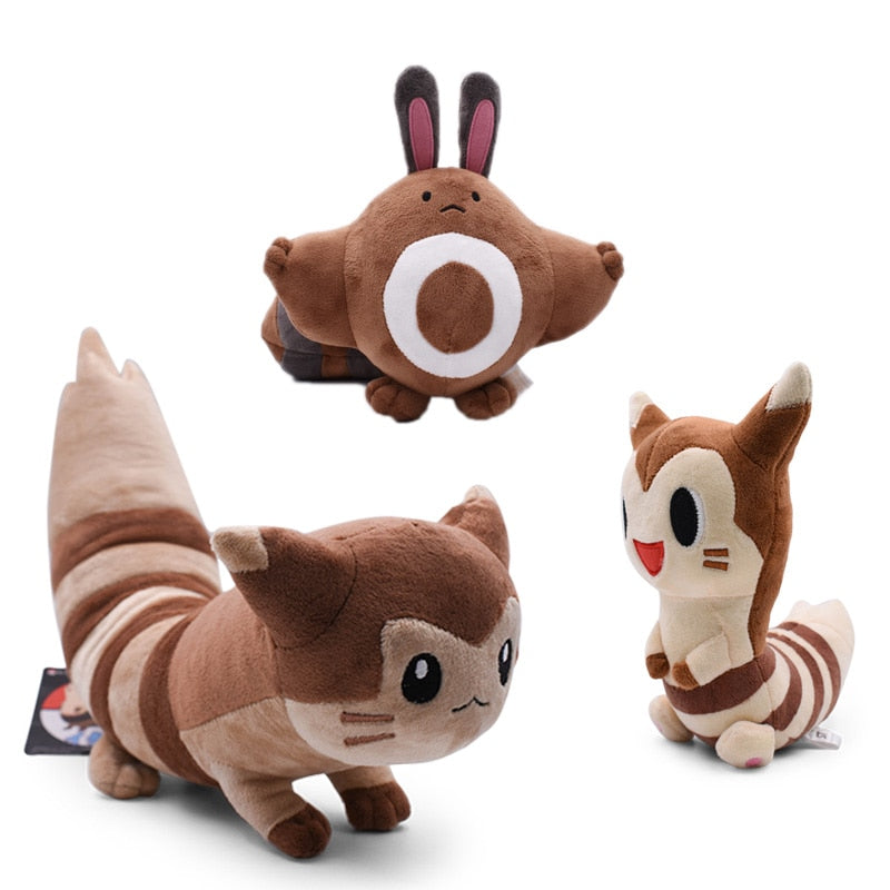 Sentret & Furret Plush