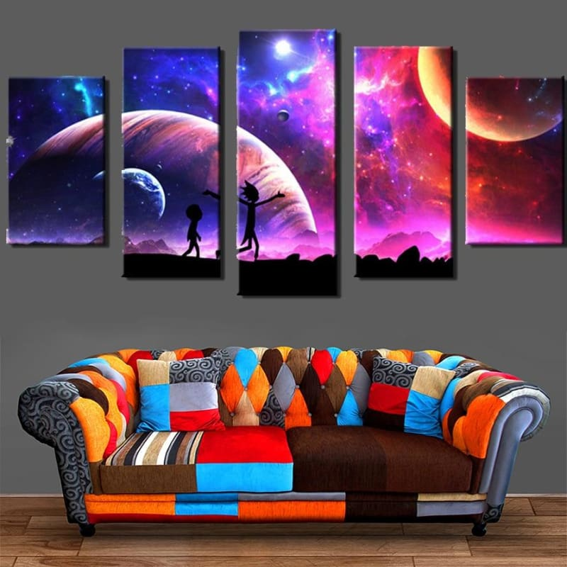 R&M Through The Stars Canvas - wall art