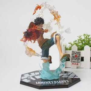 Straw Hats Trio - Luffy No Box - Figures