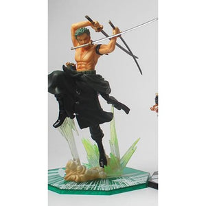 Straw Hats Trio - Zoro No Box - Figures