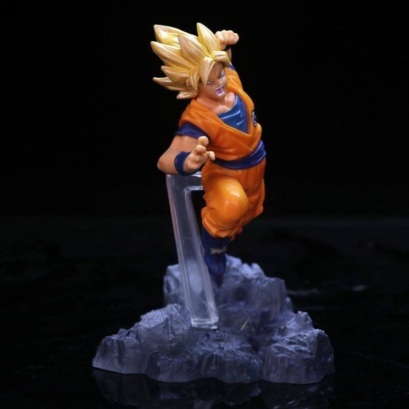 The Fight Of Gokus - Figures