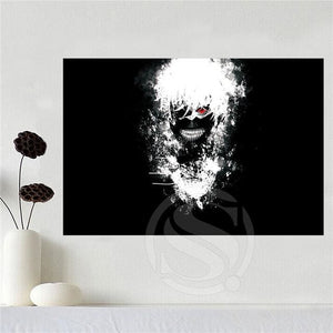 Tokyo Ghoul Art - 27X40cm / Yellow - Wall Set