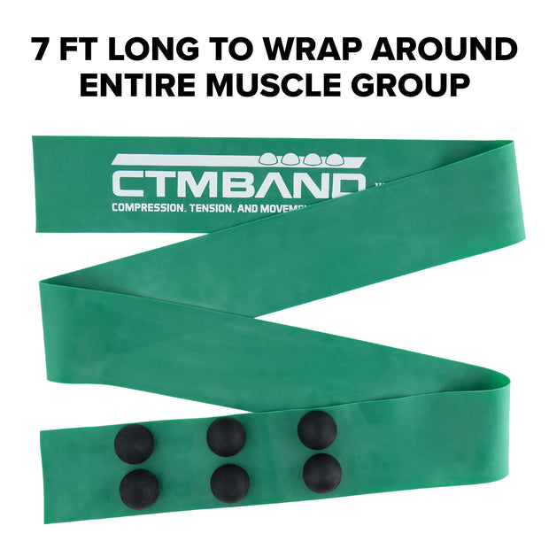 Image. The CTM Band is a first-of-its-kind tool used to relieve tight and sore muscles. The CTM Band releases muscle knots and trigger points like never before!