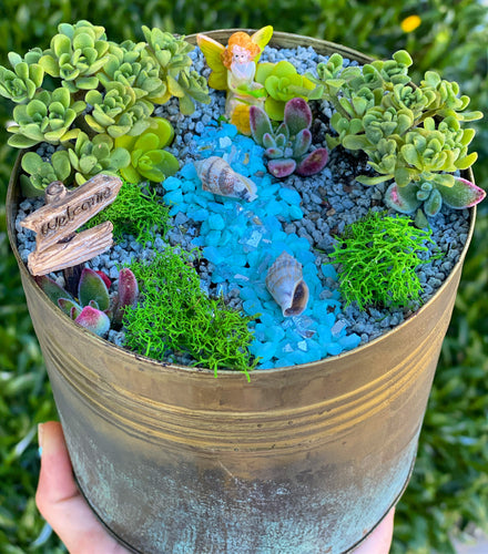DIY Fairy Garden Tin Kits